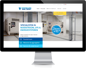 Website Kemper en Van Twist